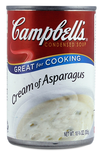 Sopa Campbell`S Cream Of Aspargus 295g