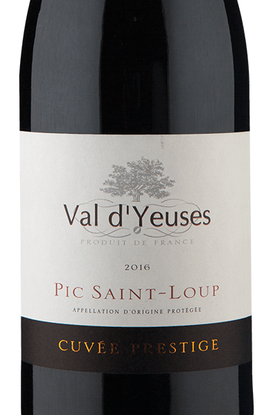 Val D`Yeuses Pic Saint-Loup A.O.P. Languedoc 2016