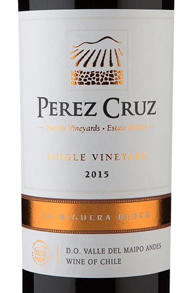 Pérez Cruz Single Vineyard La Higuera Block 2015