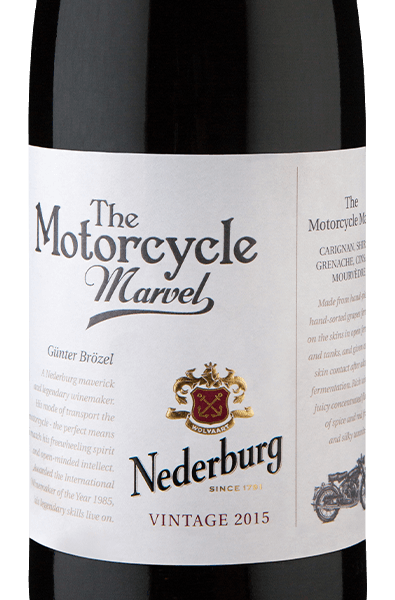 Nederburg The Motorcycle Marvel W.O. Western Cape 2015
