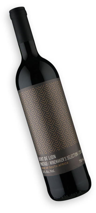Dent de Lion Winemakers Selection W.O. Western Cape Pinotage 2016