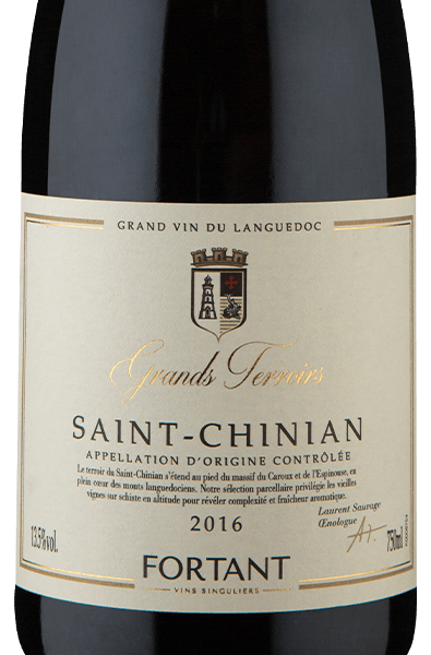 Fortant de France Grands Terroirs A.O.C. Saint-Chinian 2016
