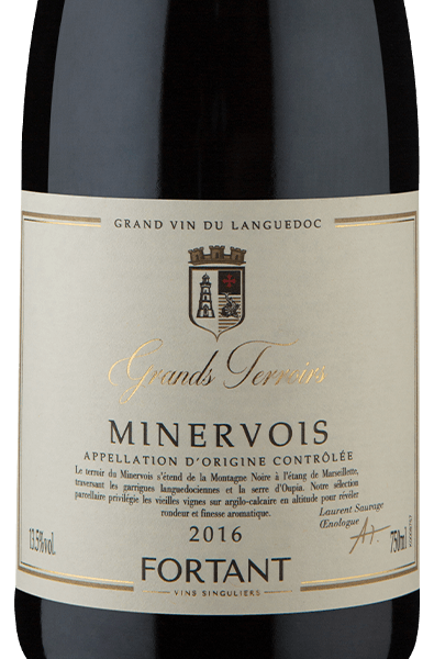 Fortant Grands Terroirs A.O.C. Minervois Rouge 2016