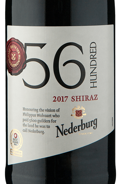 Nederburg 56 Hundred Shiraz 2017