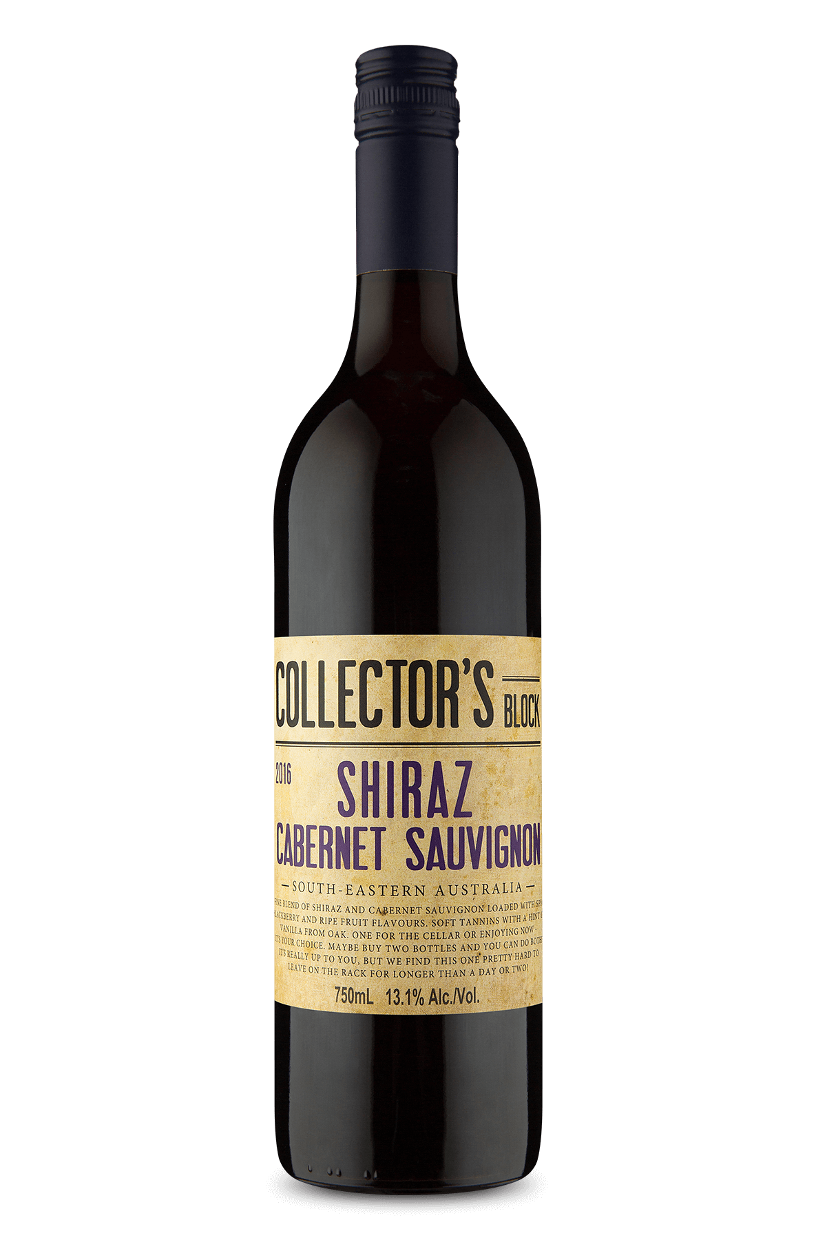 Collector's Block Shiraz Cabernet Sauvignon 2016