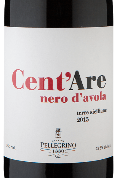 Cent`Are I.G.P. Terre Siciliane Nero d`Avola 2015