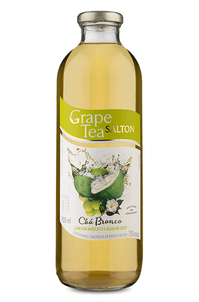 Salton Grape Tea com Uva Moscato e Água de Coco 750 ml