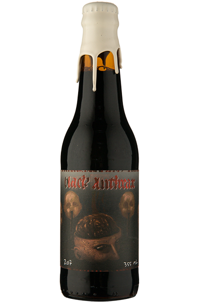 Quatro Graus Black Anthrax Imperial Stout 2017 355ml