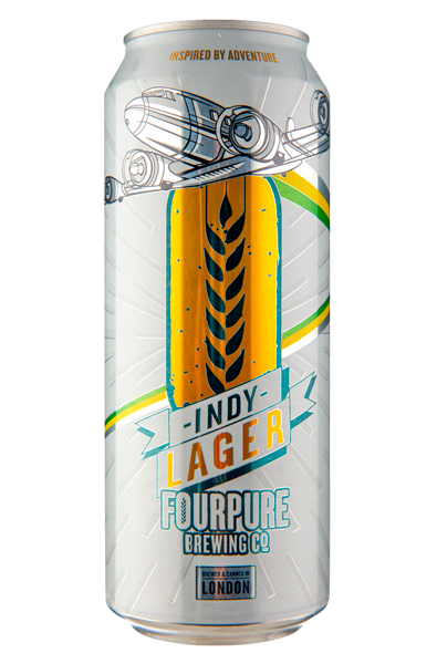 Fourpure Indy Lager Helles Lata 500ml