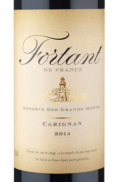 Fortant de France Reserve des Grands Monts Carignan 2014