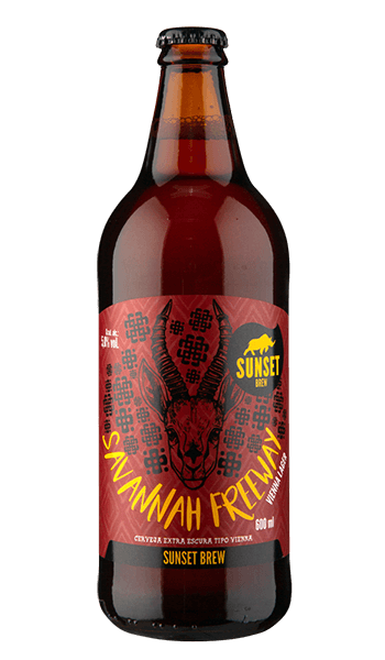 Sunset Brew Savannah Freeway Vienna Lager 600ml