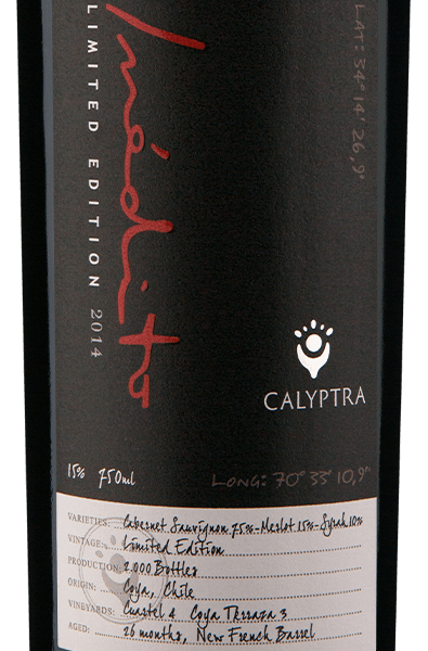 Calyptra Inédito Limited Edition 2014