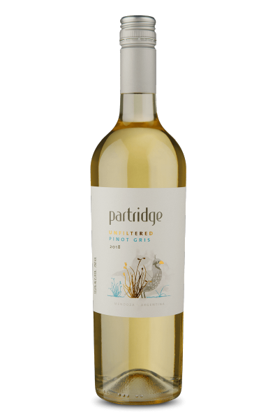 Partridge Unfiltered Pinot Gris 2018