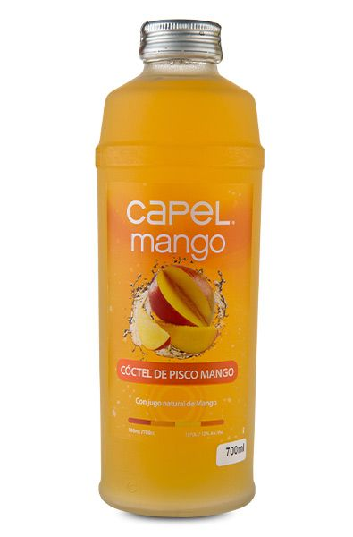 Pisco Capel Mango - 700ml