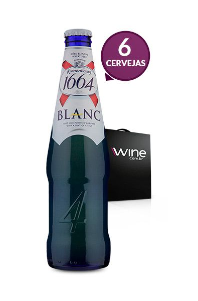 WineBox Cervejas Kronenbourg 1664 Blanc 330ml - 6 Un