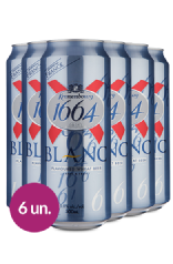 WineBox Cervejas Kronenbourg 1664 Blanc Lata - 500ml