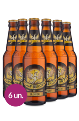 WineBox Cervejas Grimbergen Blonde - 330ml - 6 Un