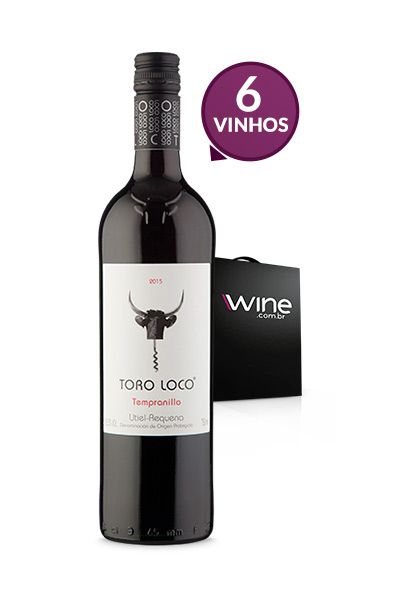 WineBox 6 Toro Loco Tempranillo 2015