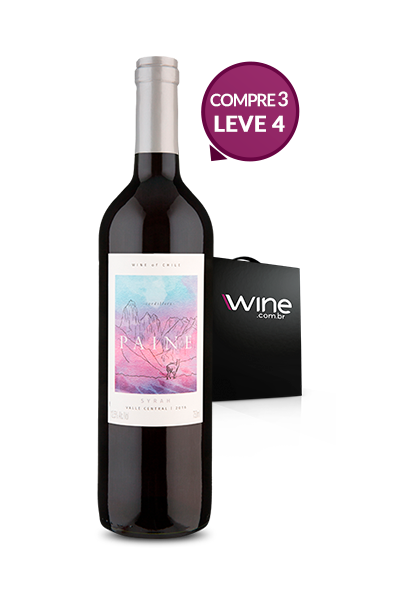 WineBox Compre 3 Leve 4 Paine Syrah 2016