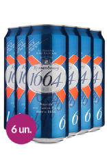 WineBox Cervejas Kronenbourg 1664 Lata 500ml - 6 Un