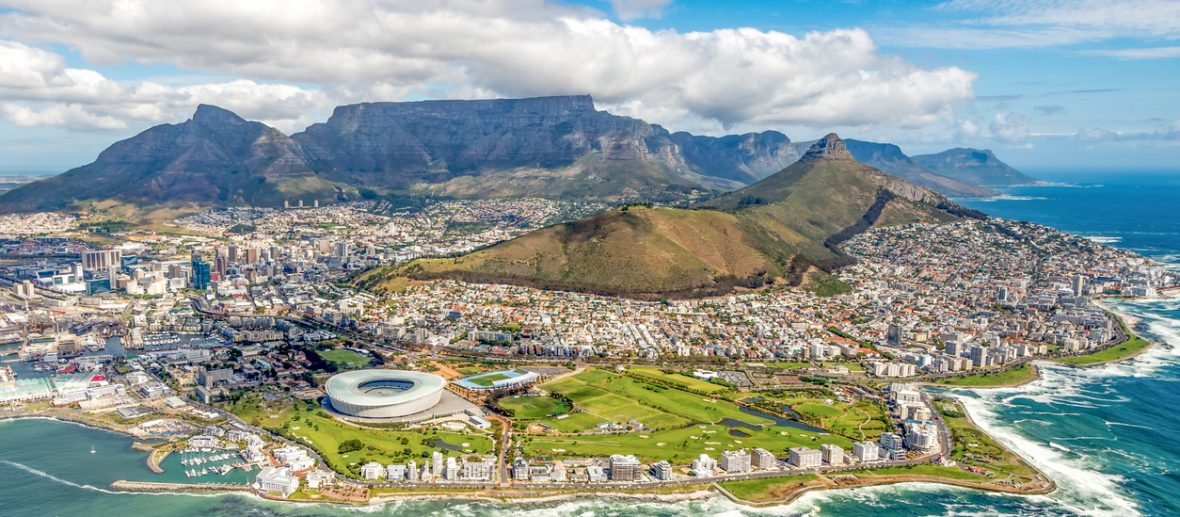 Passagens aéreas ida e volta para África do Sul a partir de R$ 2.374
