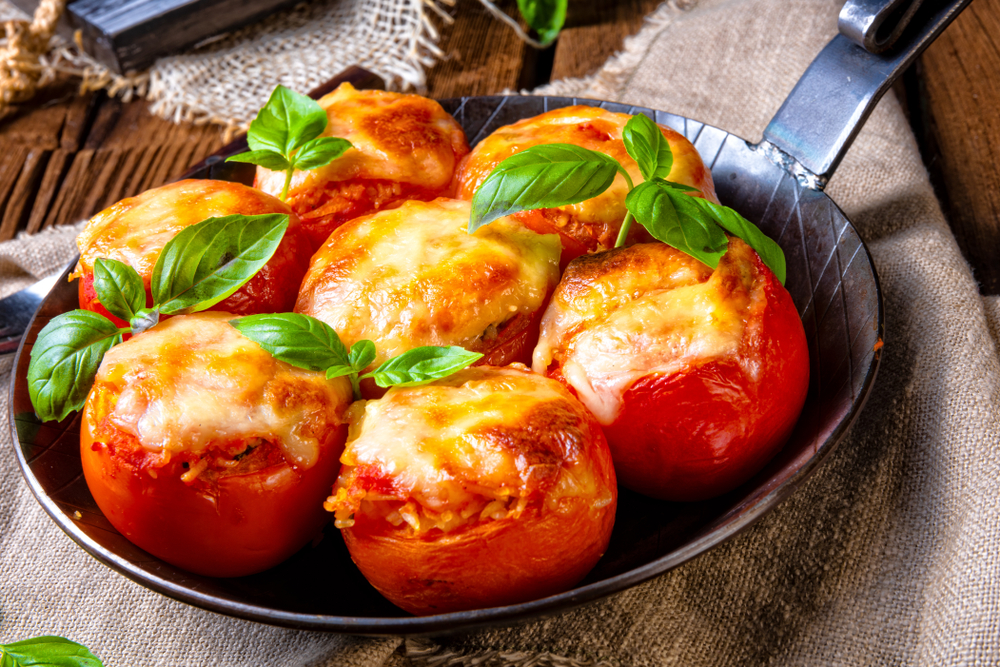 Tomate recheado | Winepedia
