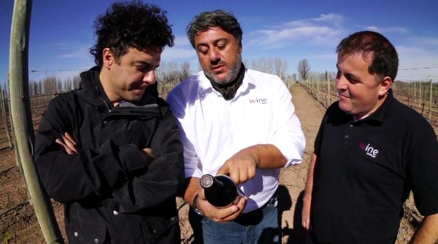 Mauro, Vicente e eu