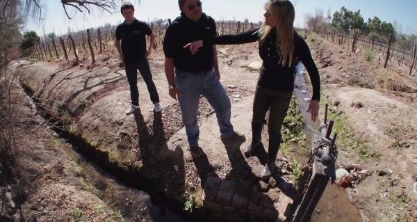 Irrigação em Mendoza, água e vinho, importância da água