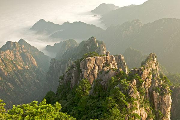 Montanhas Huangshan