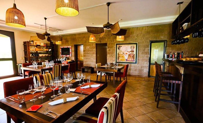Osádia de Crear - Restaurantes em meio a vinhedos