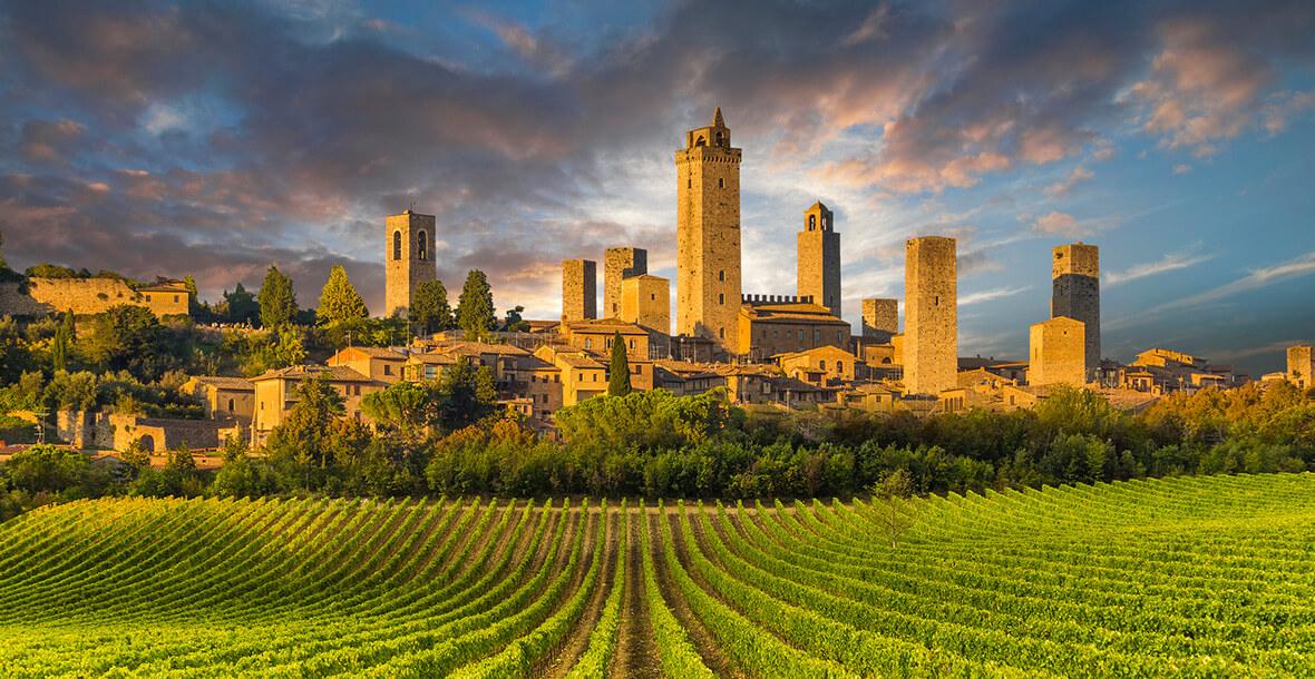 Roteiros do vinho - Toscana