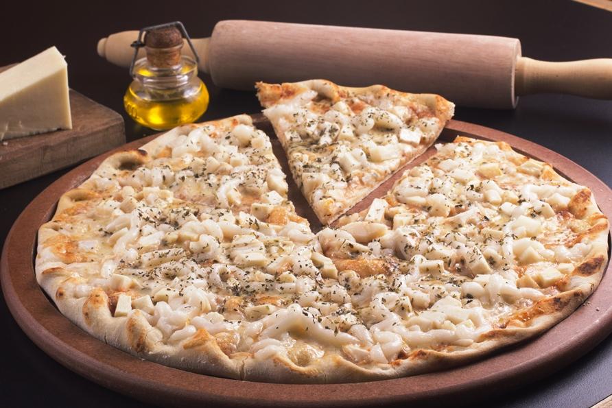 Pizza frango com requeijão | Winepedia